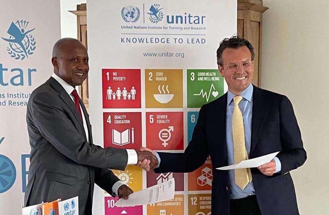 Bob Ultee agreement United Nations
